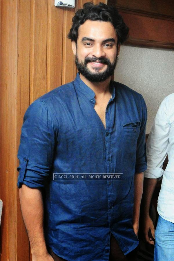 Tovino during the premiere of Ennu Ninte Moideen, in Trivandrum.
