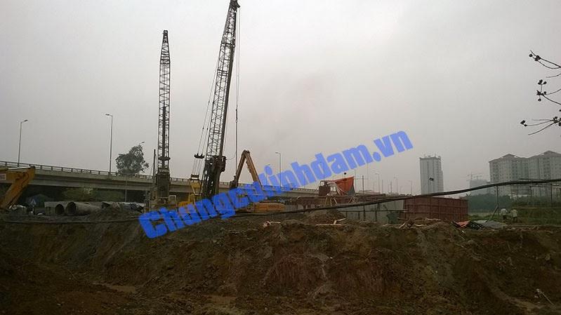 tiên độ xây dựng chung cư vp6 linh đàm