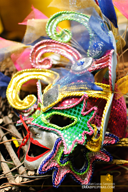 Masskara Mask at Bacolod's Manokan Country