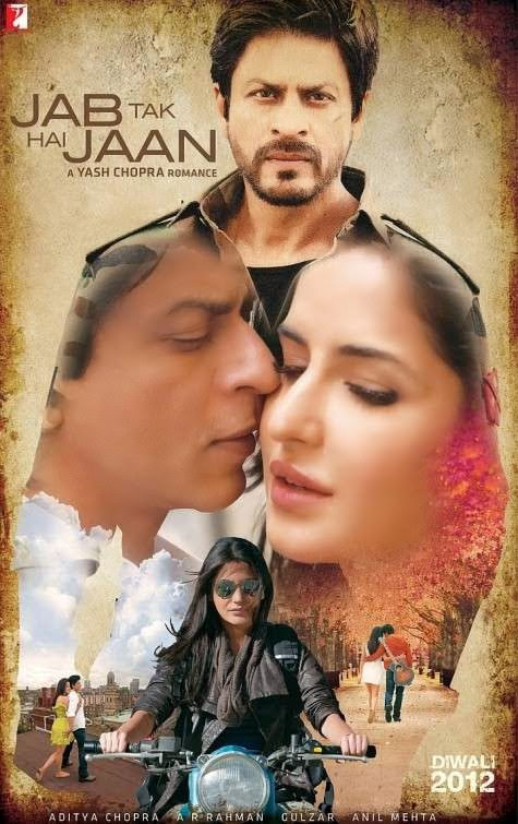 Poster Of Hindi Movie Jab Tak Hai Jaan (2012) Free Download Full New Hindi Movie Watch Online At alldownloads4u.com