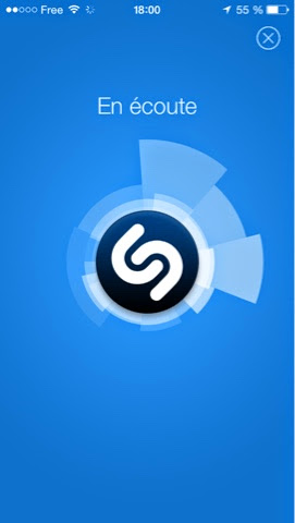 shazam applications d'esteban