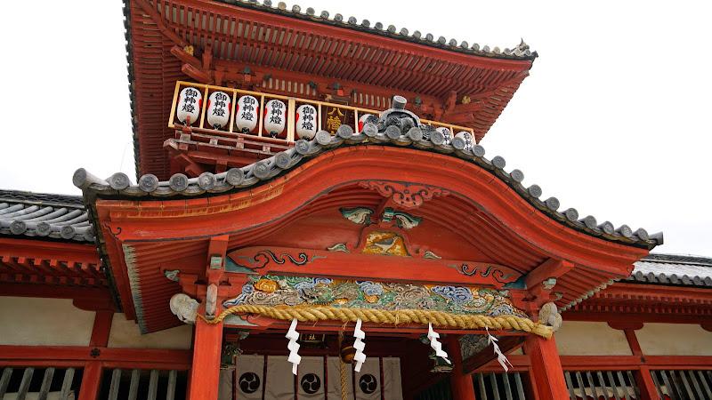 伊佐繭波神社 写真1