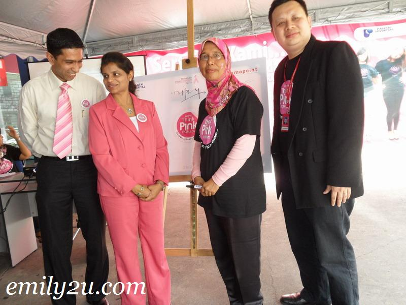 Launch of Think Pink Ipoh