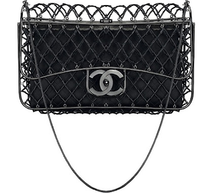Chanel's Cage Flap Bag for Spring/Summer 2013