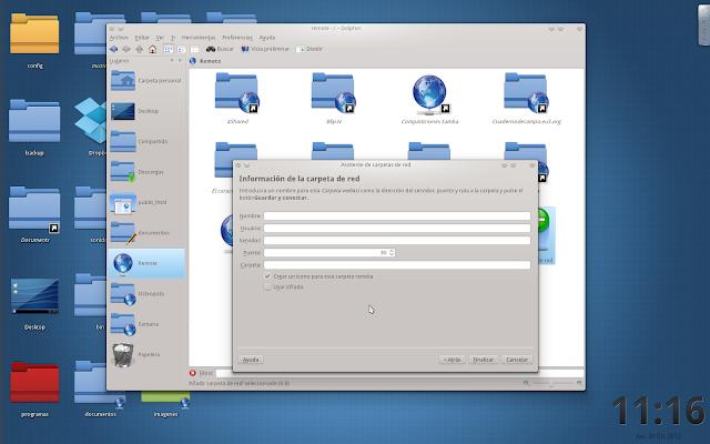 Configurar Webdav en KDE4