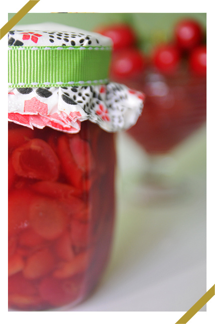 Dżem czereśniowo - wiśniowy z cynamonową nutką