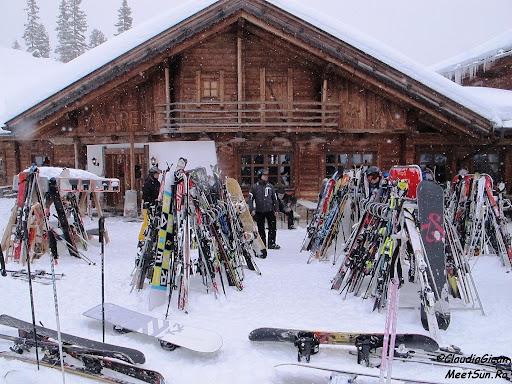 Parcare de schiuri