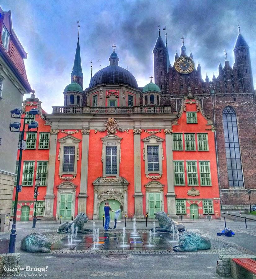 Gdańsk - Fontanna Czterech Kwartałów