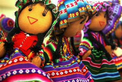 Dolls for sale in Cuzco Peru