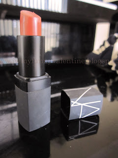 NARS Casablanca lipstick. Orange coral lippy