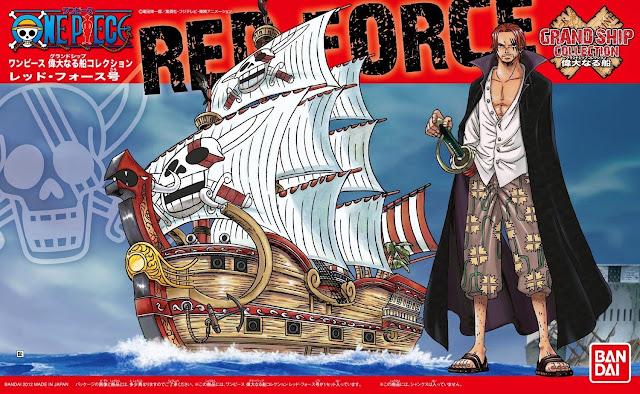 Hình ảnh bao bì sản phẩm Mô hình One Piece Red Force