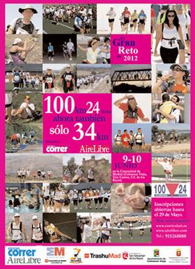 100 kilómetros en 24 horas por las Vías Pecuarias de Madrid. 9 y 10 de junio 2012