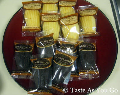 Donsuemor Madeleines - Photo by Taste As You Go