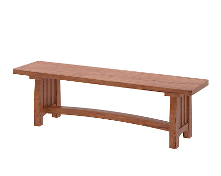 Sonora Bench in Vermont Maple