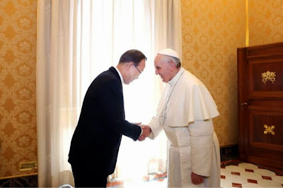 Vatican and United Nations have same goals
