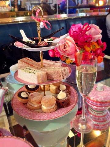 The afternoon tea club reviews neighbourhood manchester for Club sandwich fillings for high tea