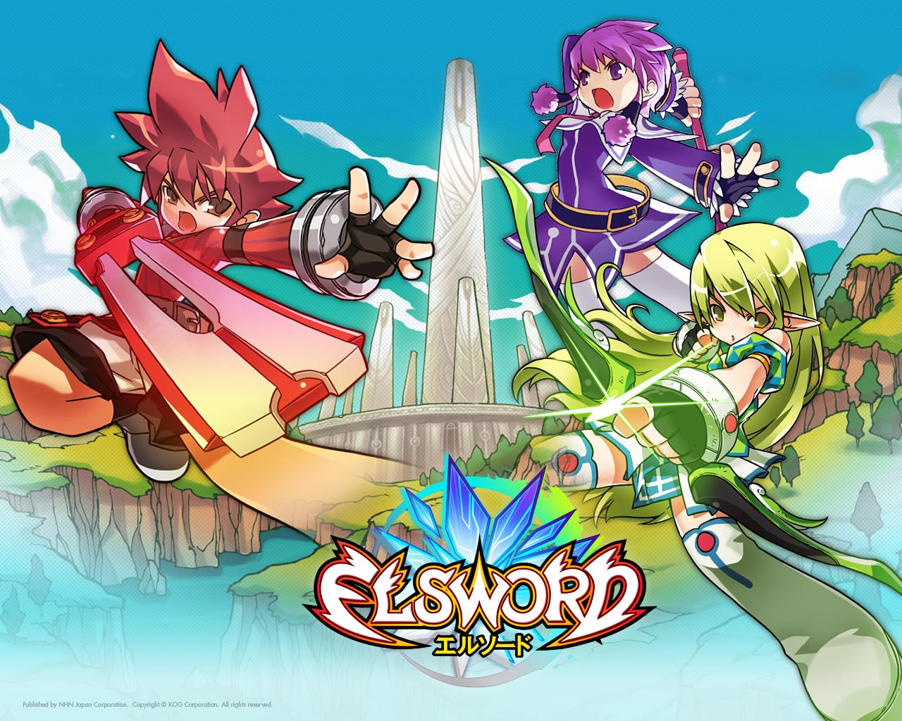 Loạt hình nền cực dễ thương của Elsword Nhật Bản - Ảnh 3