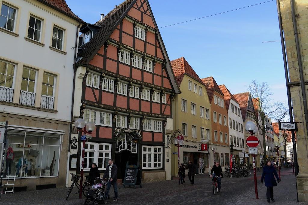 Das Hotel Walhalla steht in der Altstadt