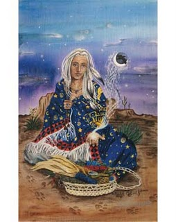 Waning Moon Woman Image