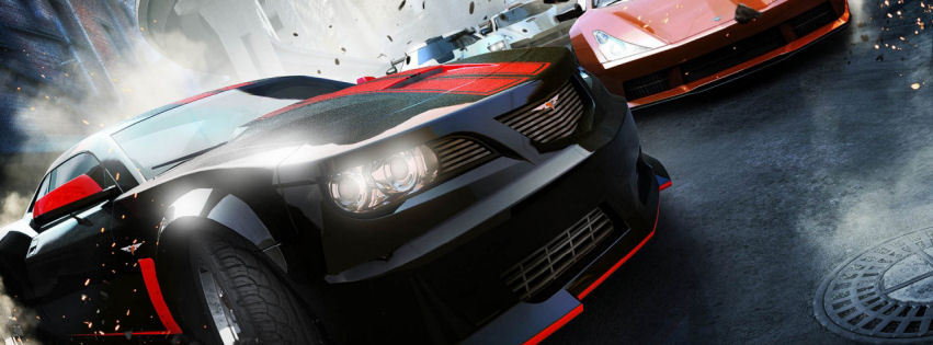 Ridge racer unbounded facebook cover