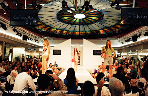 Cosmopolitan Model Search St Ives Sydney, models on the catwalk