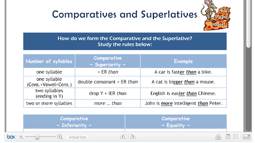 funny superlatives. COMPARATIVE AND SUPERLATIVE