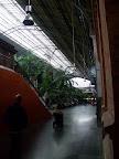 Interior de l'estació d'Atocha