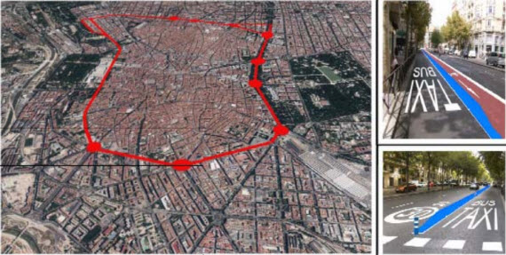 El estudio de la M-10 o circunvalación ciclista por los antiguos bulevares de Madrid