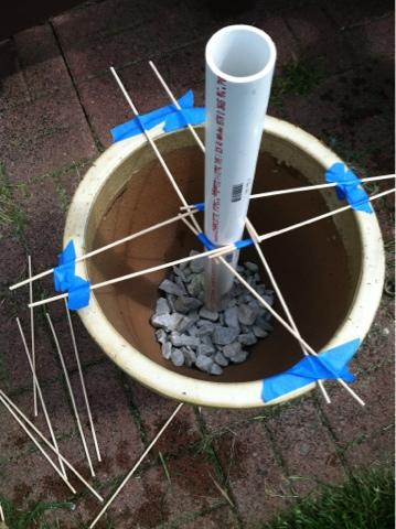 lovelace files patio umbrella stand planter. Black Bedroom Furniture Sets. Home Design Ideas