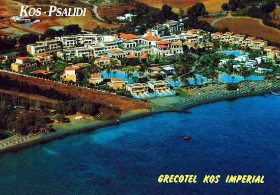 hotel grecotel kos imperial pocztówka