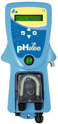 R gulation de ph pour piscine phileo for Piscine ph trop bas