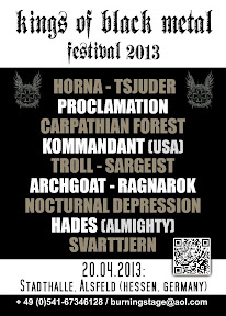 Kings of Black Metal festival 2013