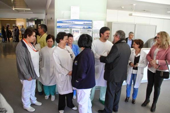 Visita Pastoral em Lamego à Unidade Hospitalar de Lamego