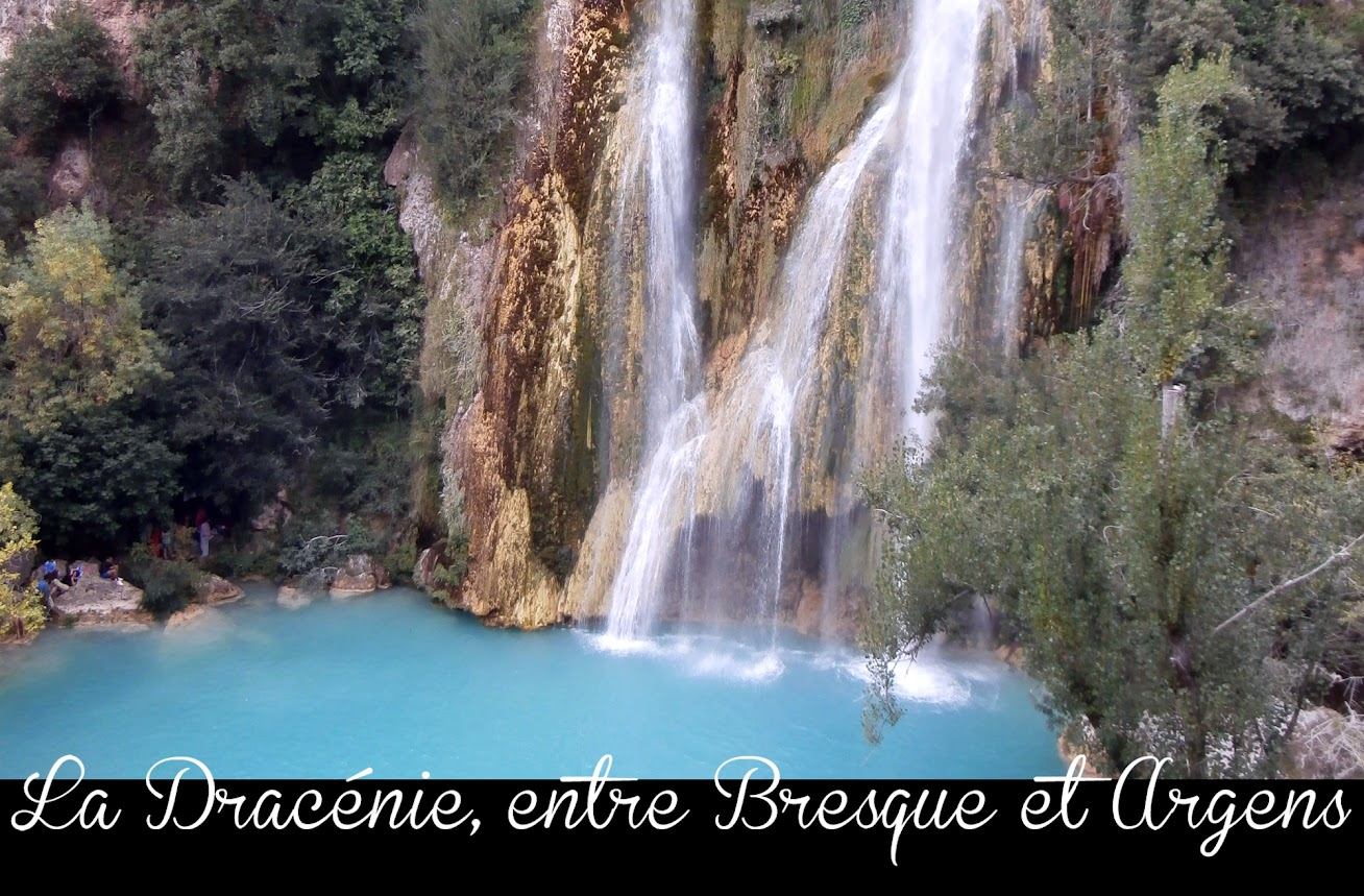 La Dracenie entre bresque et argens-la cascade de Sillans la cascade-dans le var et en provence