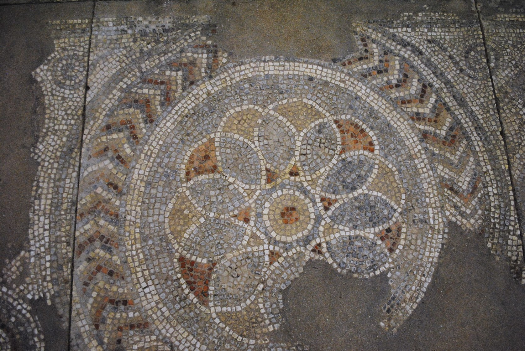 My Photos: England -- Mosaics -- Kings Weston Villa