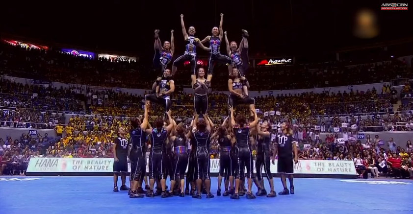 UP Pep Squad 2014 UAAP Cheerdance Competition 03-16-09-2014