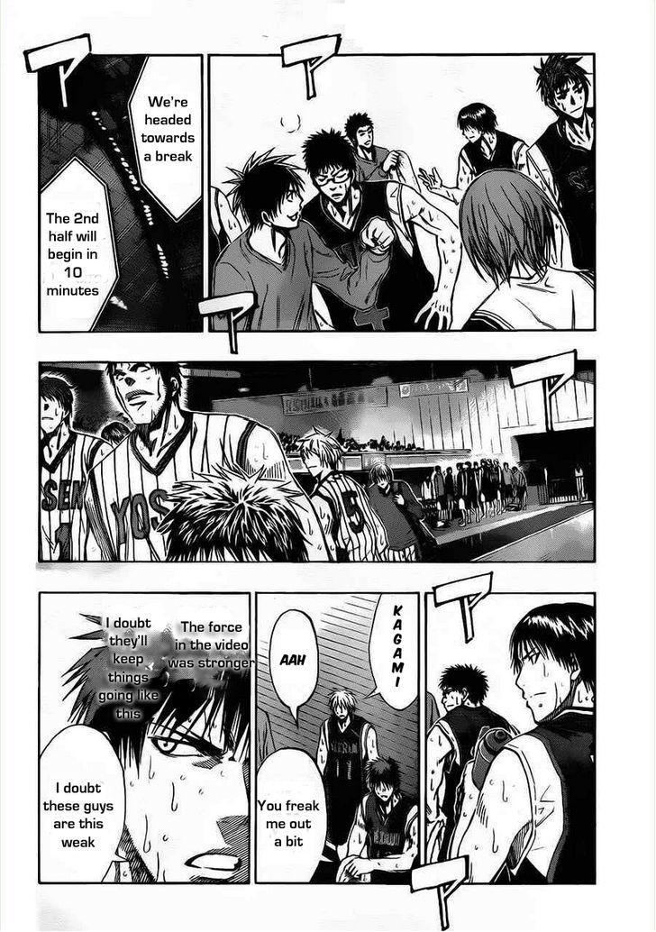 Kuroko no Basket Manga Chapter 150 - Image 08
