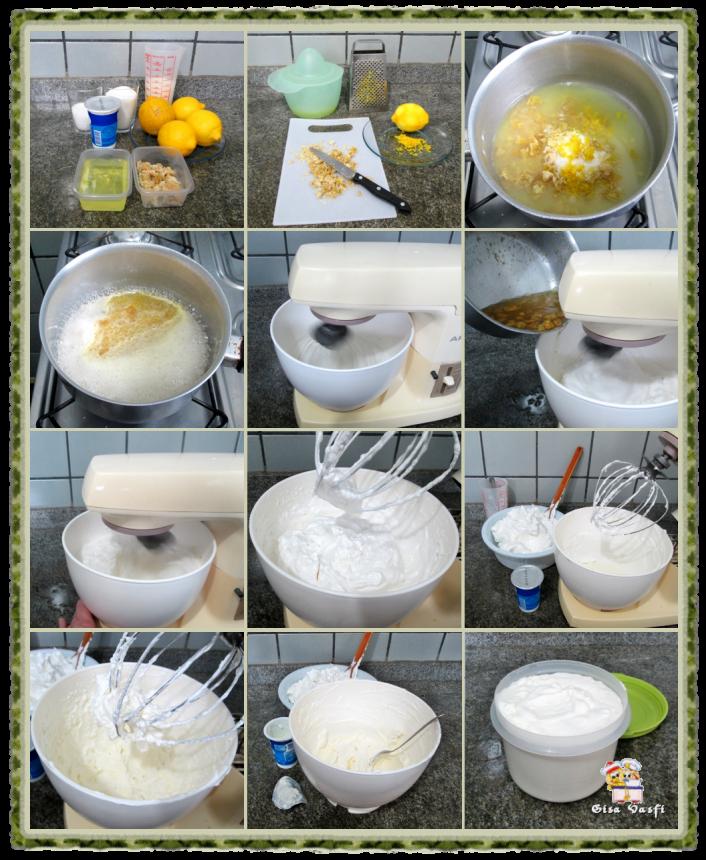 Sorvete de gengibre e limão siciliano 3
