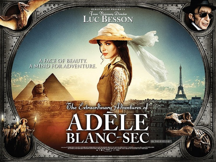 The Extraordinary Adventures of Adèle Blanc-Sec movie poster