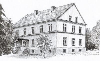 Pałac w Redlicach – stan przed 1945 r.