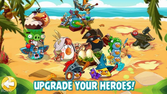 Angry Birds Epic v1.0.8 for iPhone/iPad