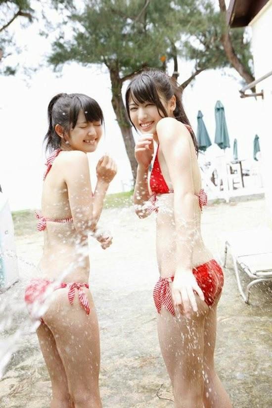 Cảnh tắm của nhóm nhạc ℃-ute khiến các fan bỏng mắt