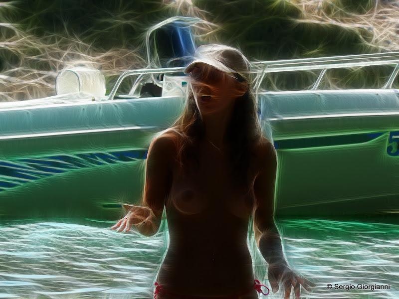 topless al mare