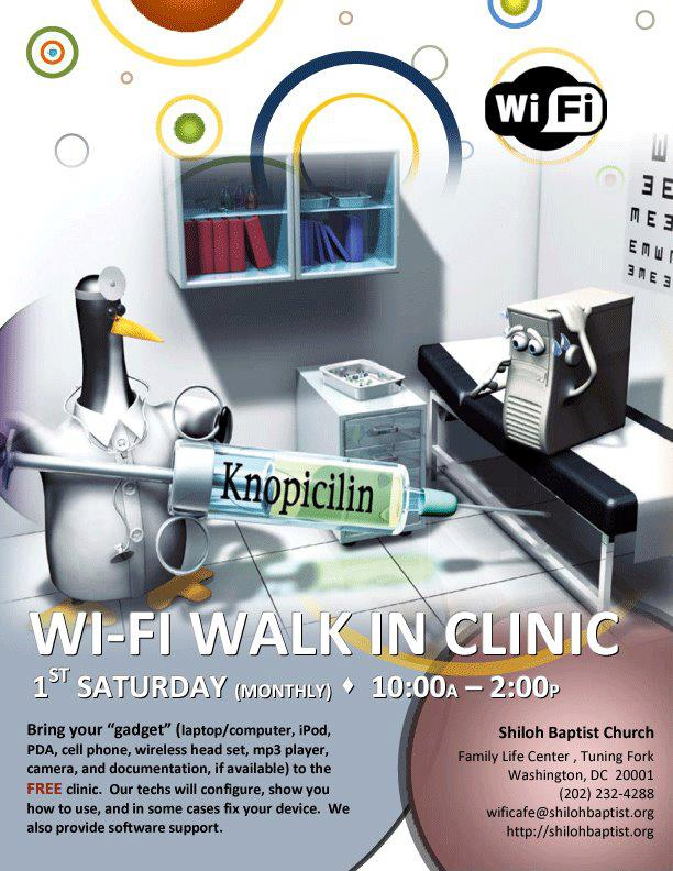 Technology Clinic Flyer