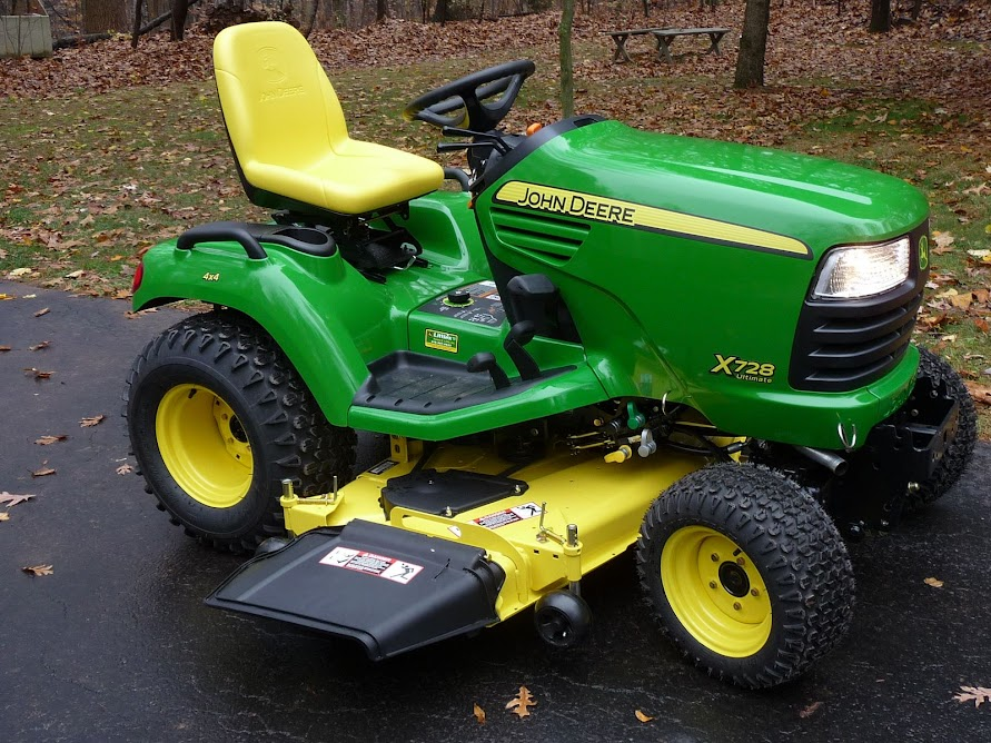 John Deere X728 Lawn Tractor : August fmom jere mytractorforum the
