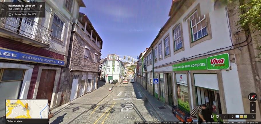 Ruas Macário de Castro e Cardoso Avelino com dois sentidos
