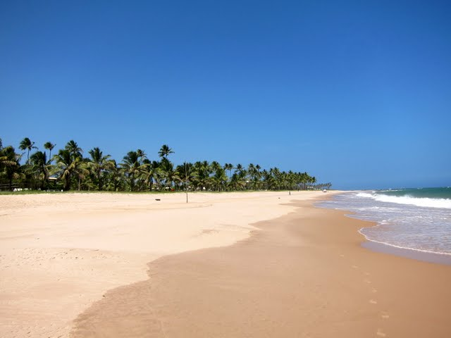 Guarajuba Beach in Bahia
