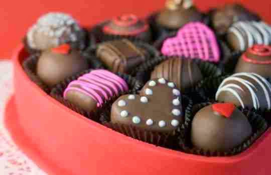 Bonbones de chocolate