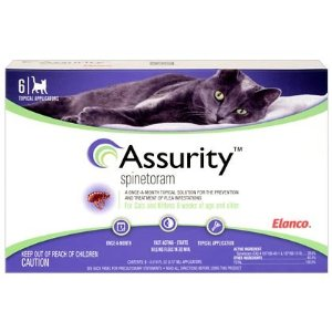 Assurity for Cats Flea Preventative 6pk