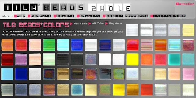 New Tila Bead Colors by Miyuki
